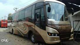 Luxary bus sell with fiance tata & leyland
