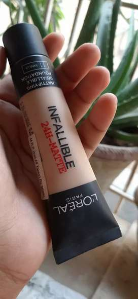 Loreal Infallible 24-hour matte foundation