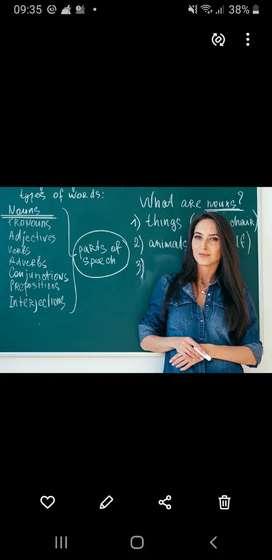High school English &primary school Maths