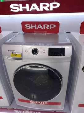 Mesin cuci Sharp ESFL1083W