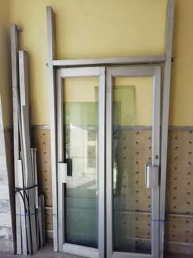 Alluminium Frame Window and Door (9x9). Perfect for Office and Shops