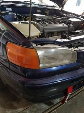 Headlamp ori all new corolla