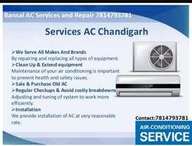 Bansal AC Repair Sector 14 Chandigarh
