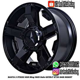 Velg R18 Offroad Pajero Fortuner Ranger Everest Colorado