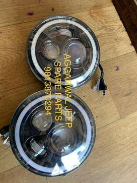 Led head lamps for mm550 jeep spare parts