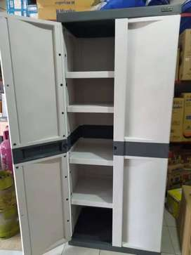 lemari almari arisa arissa 5 ruang bahan plastik CA 102 jantungacc