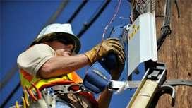 Require Field Technician for broadband company