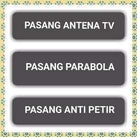 Liga Inggris Live/ Pasang Antena Tv, Pasang Parabola & Penangkal Petir