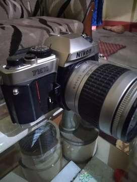 Nikon f10 vintage camera with 24-80mm full frame lens