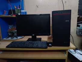 "Offer Sale -intel Pc &""Monitor Fullset system"