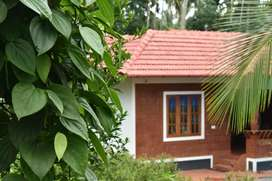 Independent house with farm & pond available for guest house