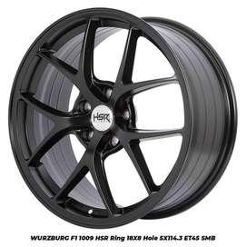 Velg Racing Mobil chr HSR R18X8 H5X114,3 ET 45