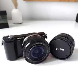 SONY A5000 + LENSA 35MM