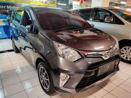 Toyota calya G 2016 grey automatic km rendah full orisinil