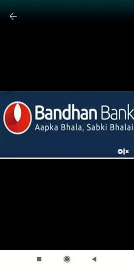 Direct walk in for bandhan Banks