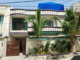 240 yards Luxury double story house block-4, saadi town