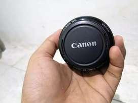 Lensa canon 50mm fix (no stm)