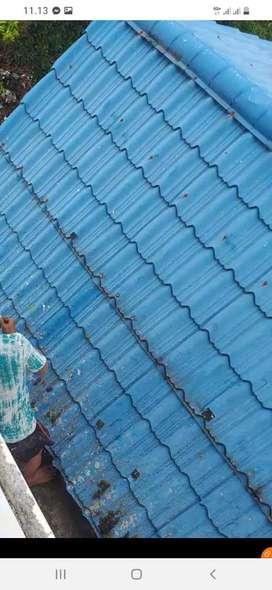 Jasa perbaikan rumah bocor Genteng atap Lantai merembes talang