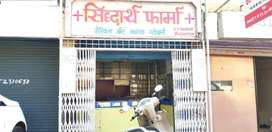 MBBS, MD doctor clinic attach furnished medical shop on rent.