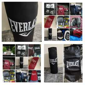 Sand bag boxing gloves boxing bag punching bag kick pads skipping rope