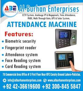 Time Attendance Biometric Machine With Battery Backup