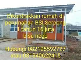 Dikontrakkan Rumah di Perumahan Bukit Serpong Indah