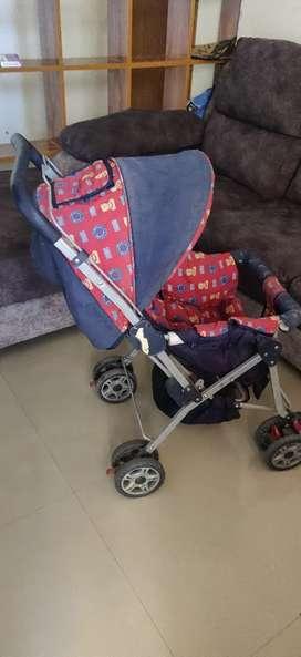 Kids baby stroller trolley