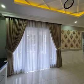 Terbaru Gorden Mewah Vitrase Curtain blinds wallpaper