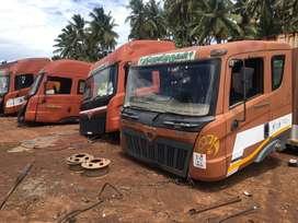 Mahindra company cabin