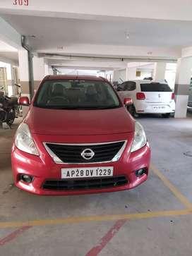 Nissan Sunny XL Brick red