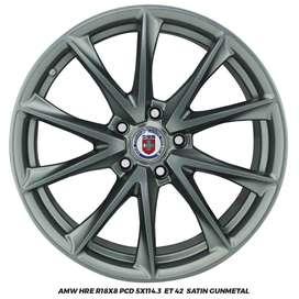 Jual Velg CRV BRV CX5 Ertiga Xpander  AMW HRE R18x8 hole 5x114.3 ET 42