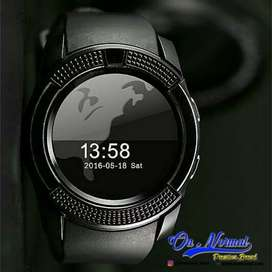 Smart watch V8 jam tangan watch phone Samsung gear smartwatch kamera