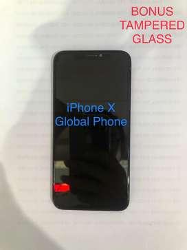 LCD iPhone X ORi NEW (BISA COD) Langsung Pasang BONUS Tampered Glass