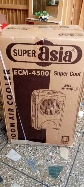 Super Asia Room cooler ECM 4500 model Good condition only one year use