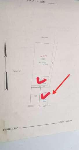 Di Jual Tanah Bagus Deket Kampus UGM Jogja ada 2 Unit tanah Kavling