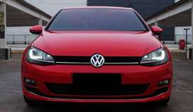 VW Golf Red Mk7 1.4 Tsi CBU 2014