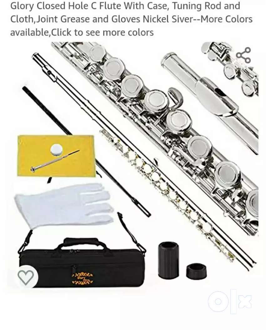 Glory Closed hole C flute nickel silver color, new item. 0