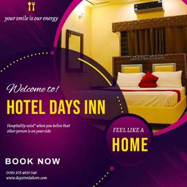 Rooms reservation available at Lahore, karachi, Islamabad, Peshawer