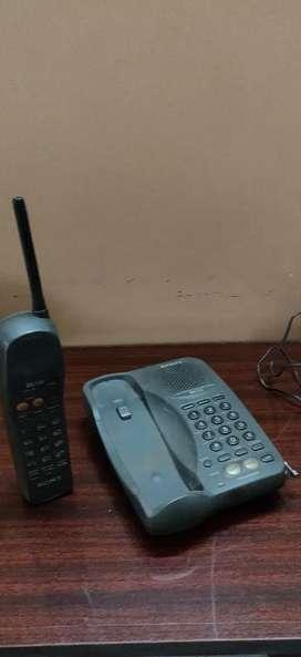 Sony cordless telephone SPP 205