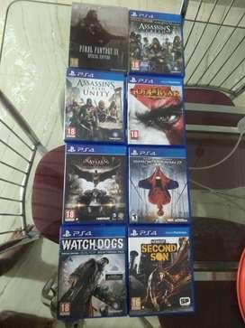8 PS4 Games