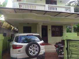 An Independent House For Rent at Poomkunnam Thrissur