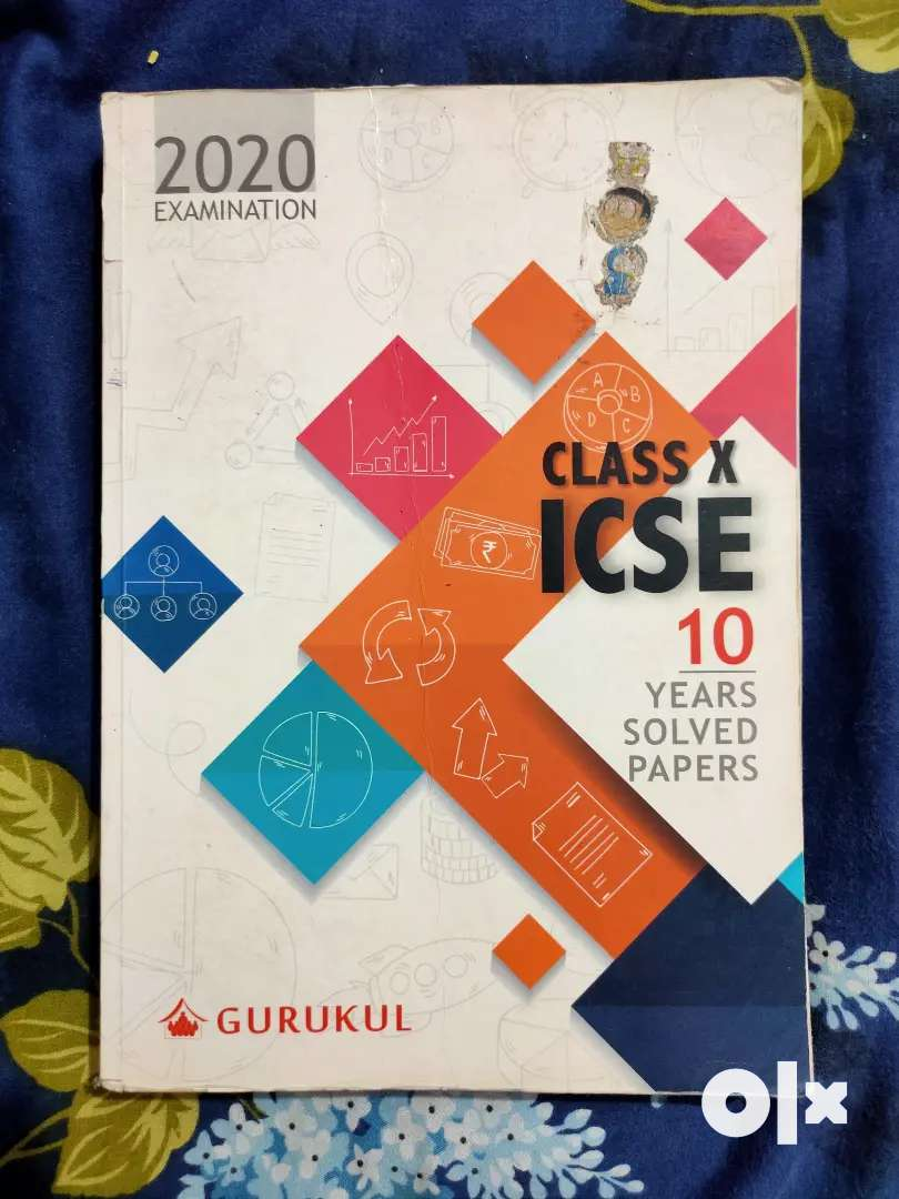 Class 10 ICSE 10years solved papers book 2020 edition