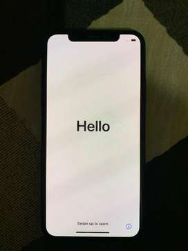 Iphone x 64GB Grey with bill box all accessories