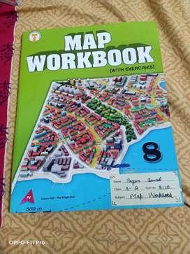 Map workbook 8 class book