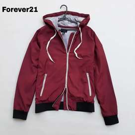 Jaket Forever 21 maron second import