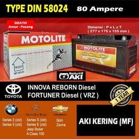 Aki Kering Murah Peugeot 307 Diesel 80 Amper