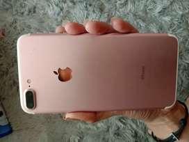 Jual bu iPhone 7 plus 128gb rose gold