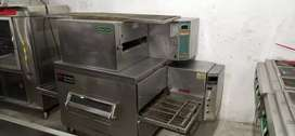 Conveyor belt pizza oven jk qoeen middle by marshal all type