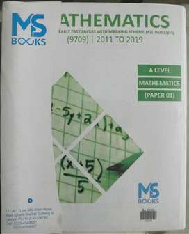 MS Books A Level Maths (P1) Yearly Past Papers (2011-2019) Unsolved
