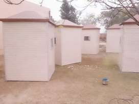 Fiber glass cabins,rooms and security cabins